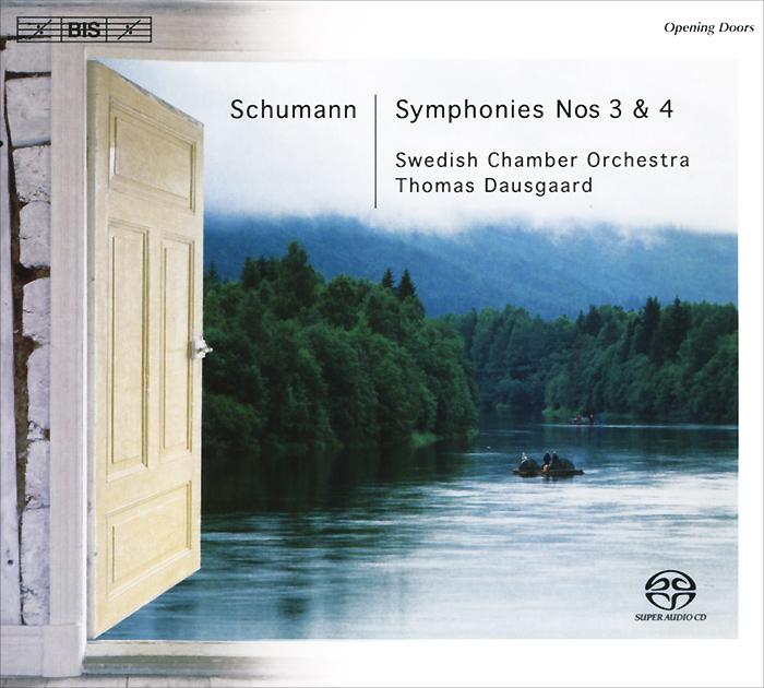 цена Swedish Chamber Orchestra,Томас Даусгард Swedish Chamber Orchestra. Thomas Dausgaard. Schumann. Symphony No. 3 & 4 Etc. (SACD) онлайн в 2017 году