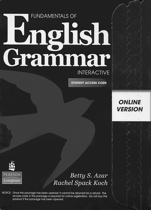 Fundamentals of English Grammar: Interactive: Student Access Code fundamentals of english grammar workbook