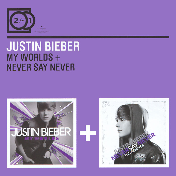 Justin Bieber. My Worlds / Never Say Never (2 CD)