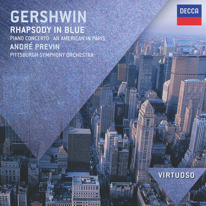 Фото - Андрэ Превен,Pittsburgh Symphony Orchestra Andre Previn. Gershwin. Rhapsody In Blue андрэ превен лилиан уотсон делиа уоллис the finchley children s music group the london symphony orchestra колин ховард andre previn mendelssohn a midsummer night s dream