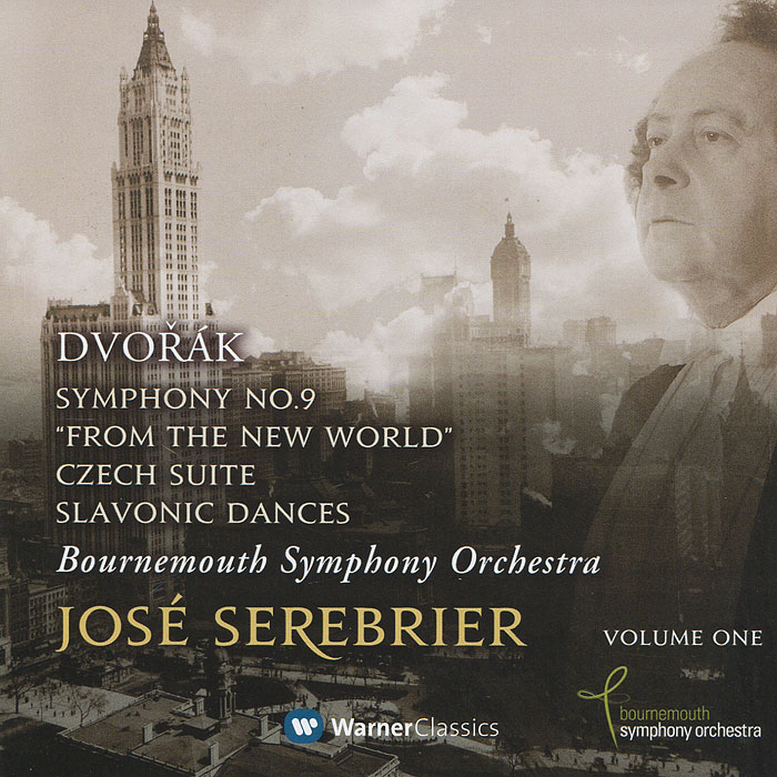 Bournemouth Symphony Orchestra,Жозе Серебрир Bournemouth Symphony Orchestra, Jose Serebrier. Dvorak. Symphony No. 9 From The New World / Czech Suite four tops bournemouth