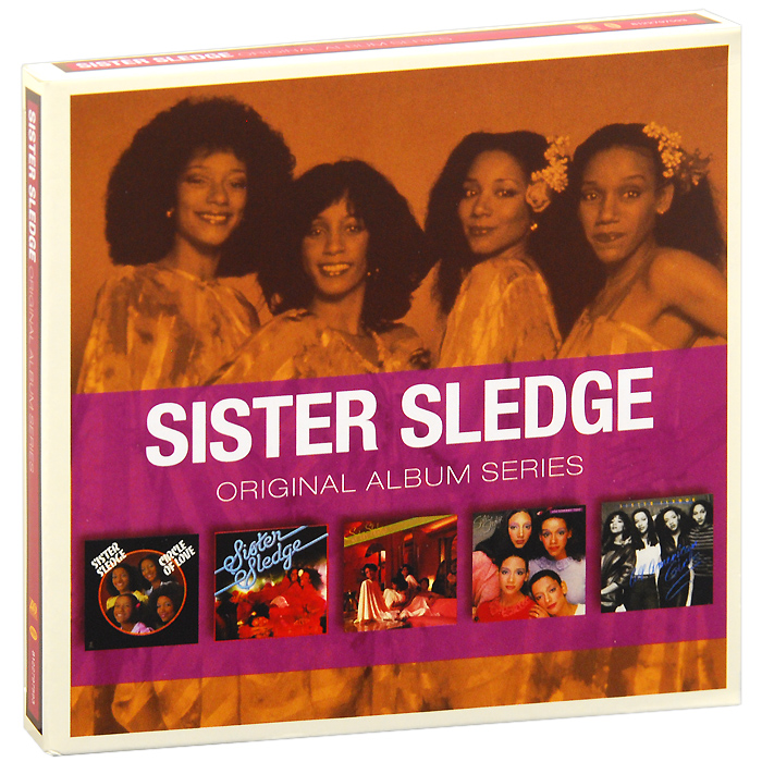Sister Sledge Sister Sledge. Original Album Series (5 CD) рикки джонс rickie lee jones original album series 5 cd