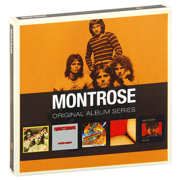 Montrose Montrose. Original Album Series (5 CD) рикки джонс rickie lee jones original album series 5 cd