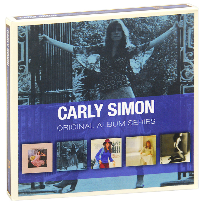 Карли Саймон Carly Simon. Original Album Series (5 CD) рикки джонс rickie lee jones original album series 5 cd