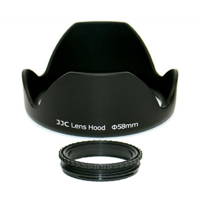 JJC бленда LS-58 58mm недорго, оригинальная цена