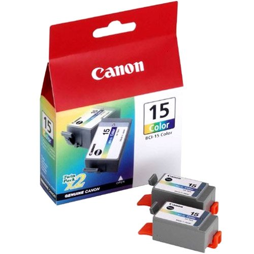 Картридж Canon BCI-15 Color TWIN картридж canon bci 11 black 0957a002