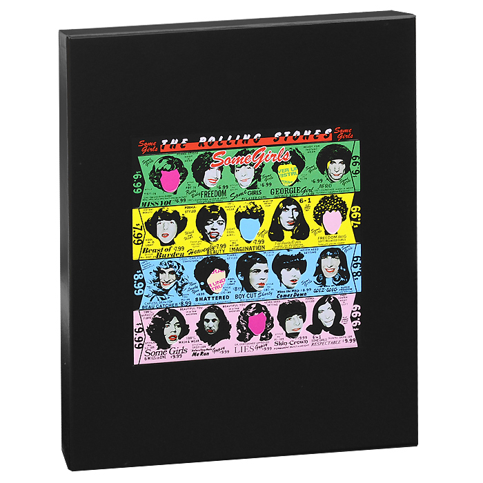 Фото - The Rolling Stones The Rolling Stones. Some Girls. Super-Deluxe Edition (2 CD + DVD + LP) cd led zeppelin ii deluxe edition