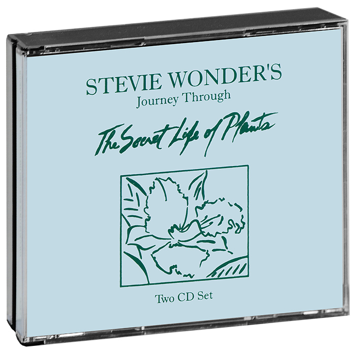 Stevie Wonder. Secret Life Of Plants (2 CD) цена и фото