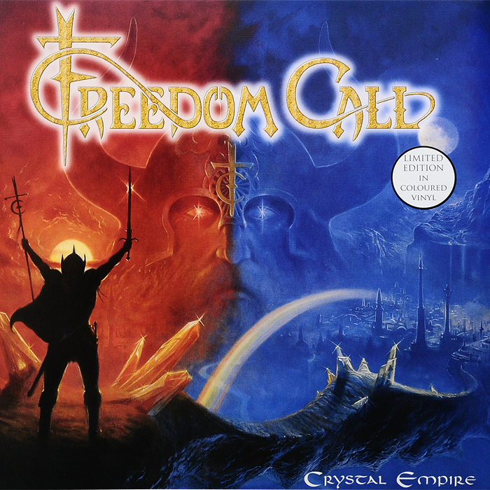 Freedom Call Freedom Call. Crystal Empire. Limited Edition (2 LP) freedom freedom black on white lp