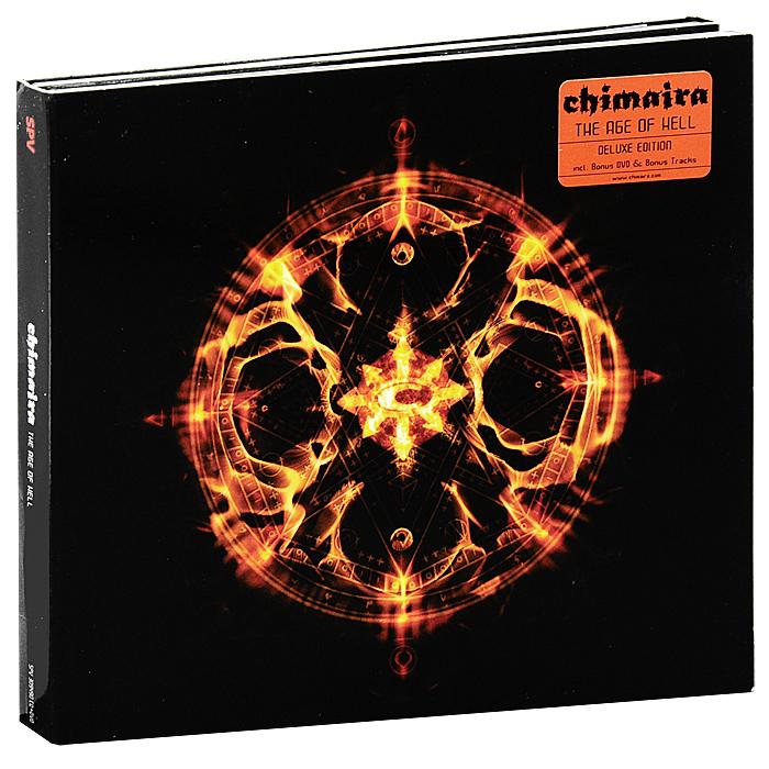 Chimaira Chimaira. The Age Of Hell (CD + DVD) музыка cd dvd audio