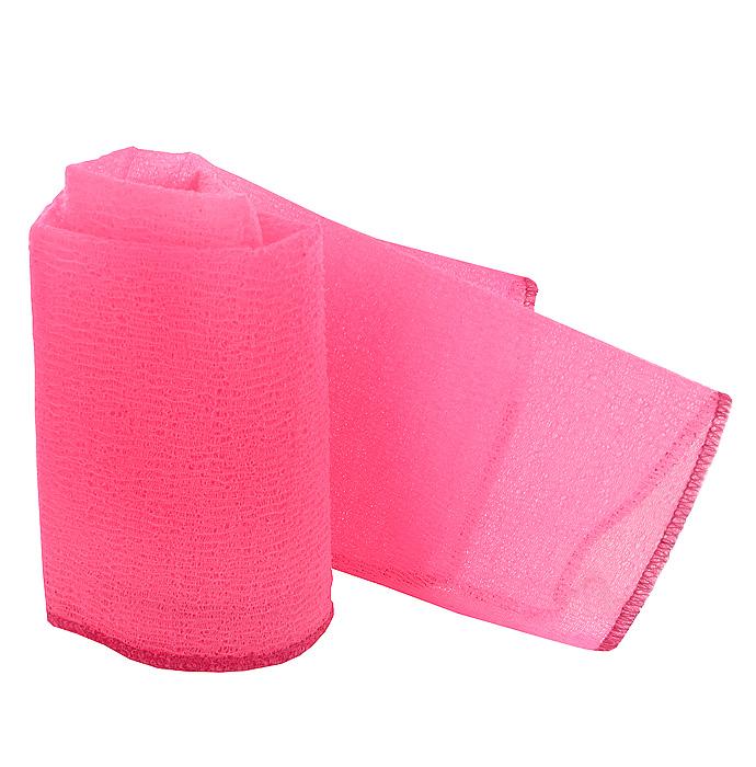 Мочалка-полотенце массажная Eva, цвет в ассортименте, 90 х 30 см цена