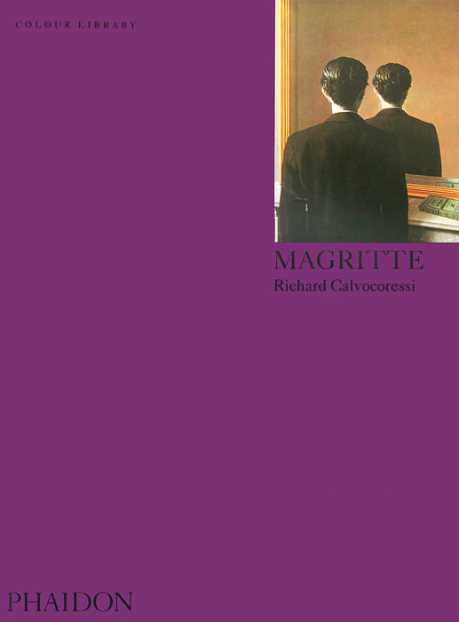 Magritte: Colour Library full page bookmark magnifier