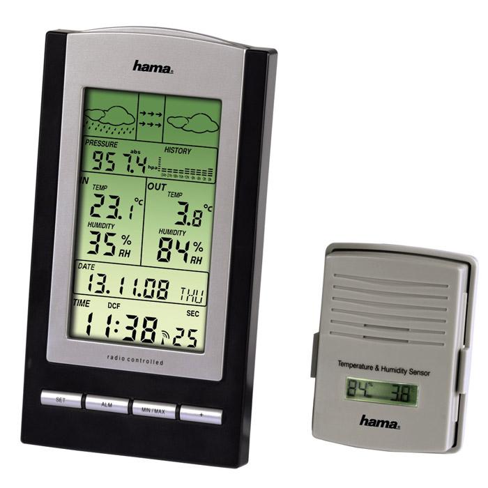 Hama EWS-800, Black-Silver
