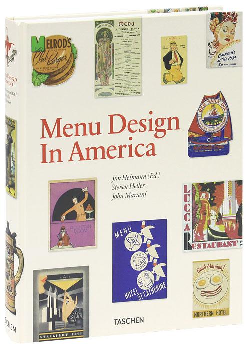 Menu Design in America, 1850-1970