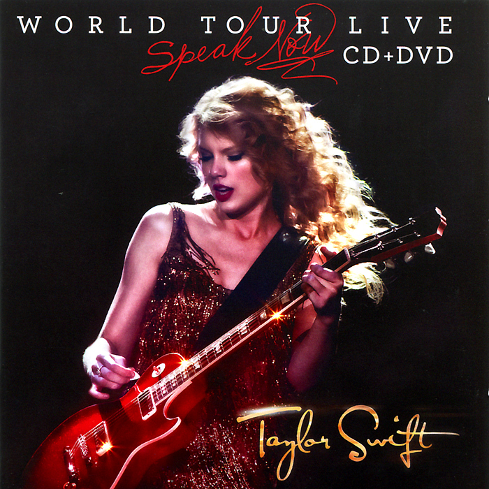 Тейлор Свифт Taylor Swift. Speak Now. World Tour Live (CD + DVD) стоимость
