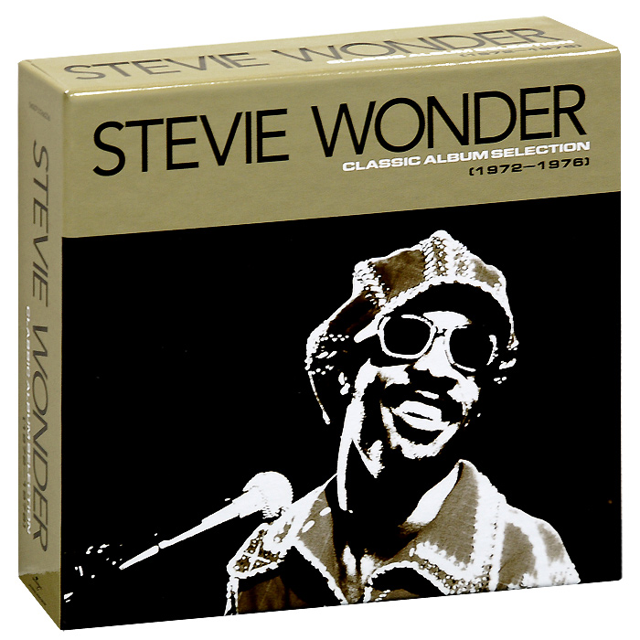 Стиви Уандер Stevie Wonder. Classic Album Selection (1972-1976) (5 CD) цена и фото