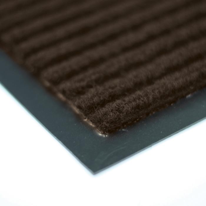 Коврик придверный Vortex влаговпитывающий цвет коричневый 40 см х 60 см .