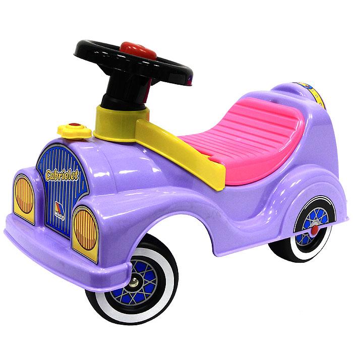"""Детский автомобиль-каталка """"Кабриолет"""", цвет в ассортименте"""