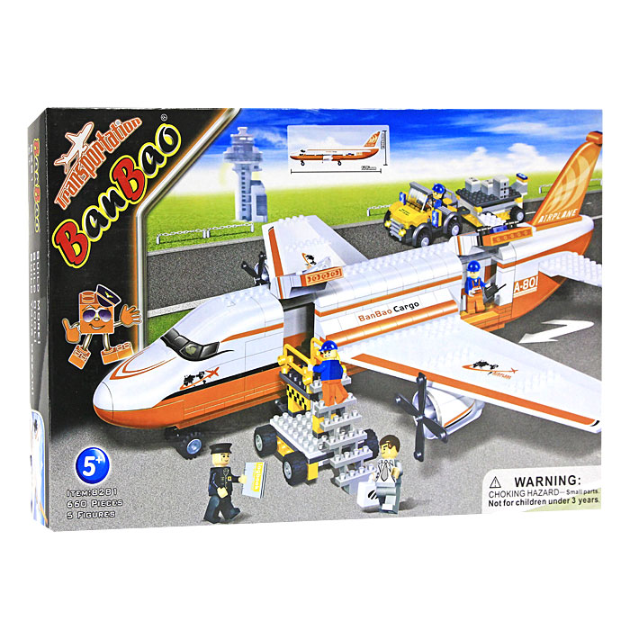 BanBao Конструктор Аэробус