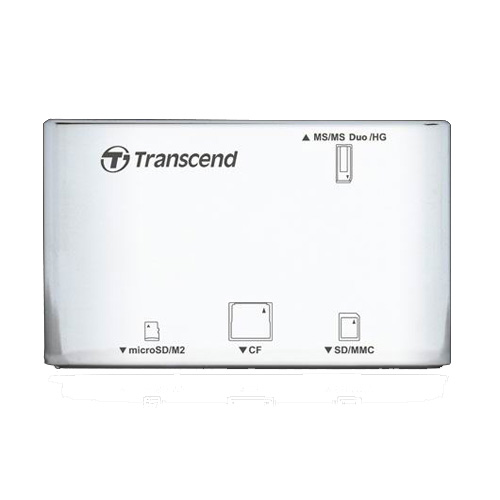 Transcend Multi-Card P8, USB 2.0, White цена и фото
