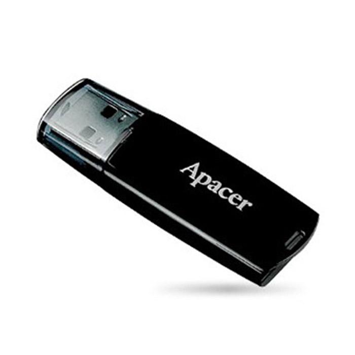 Apacer AH 322 4GB, Black (AP4GAH322B-1) apacer ah 322 16gb black ap16gah322b 1