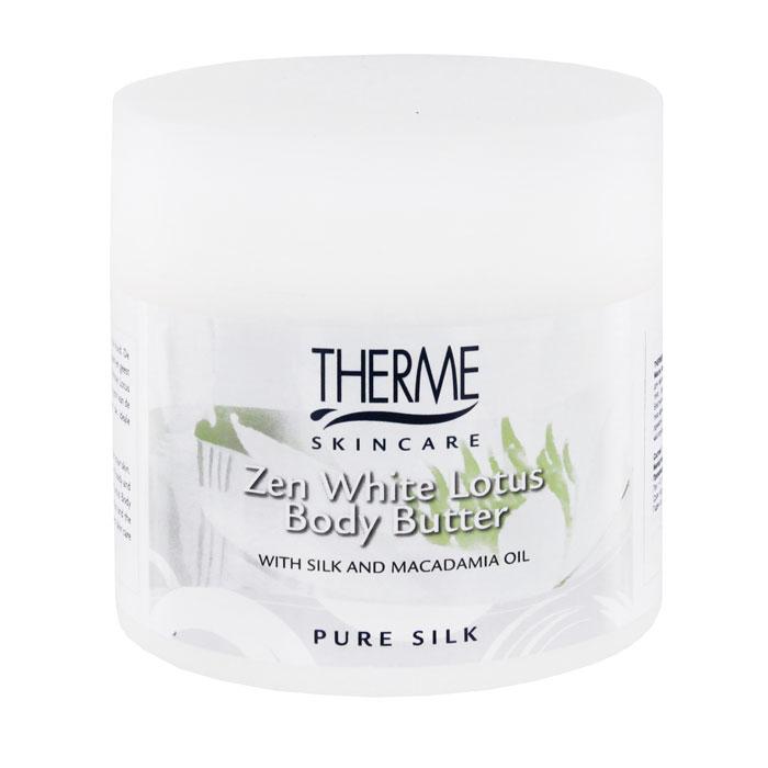 Масло взбитое для тела Therme Белый лотос, 250 мл therme белый лотос рисовый скраб для тела белый лотос рисовый скраб для тела