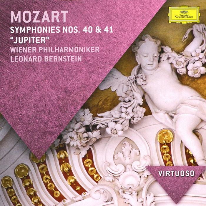 Wiener Philharmoniker,Леонард Бернштейн Leonard Bernstein. Mozart. Symphonies Nos. 40 & 41 недорго, оригинальная цена