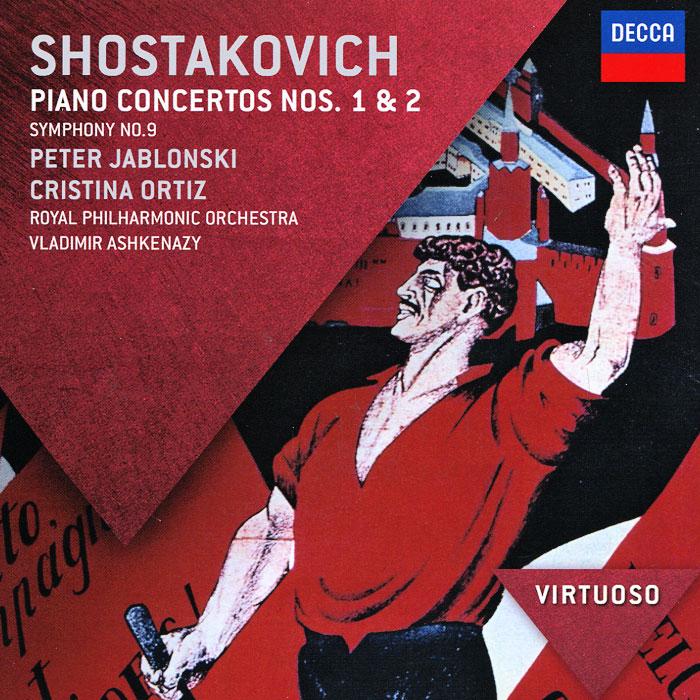 Владимир Ашкенази Vladimir Ashkenazy. Shostakovich. Piano Concertos 1 & 2 vladimir ashkenazy beethoven the piano concertos 3 cd