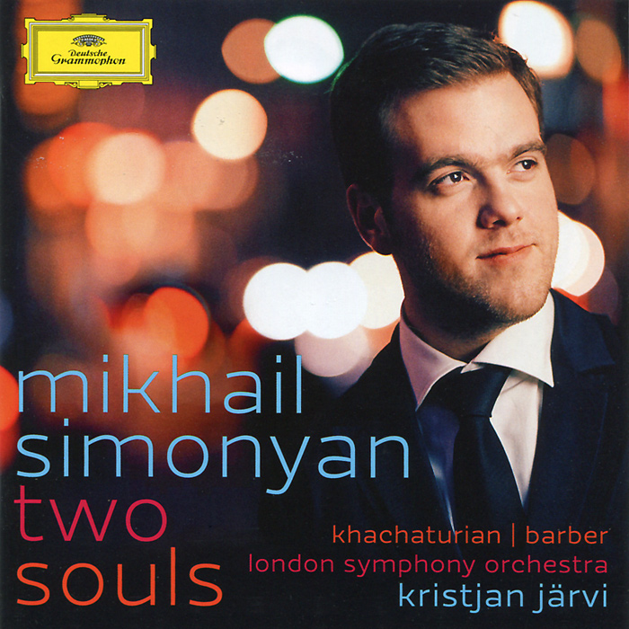 Михаил Симонян,The London Symphony Orchestra,Кристьян Ярви Mikhail Simonyan. Kristjan Jarvi. Khachaturian / Barber mikhail moskvin mikhail moskvin 558 6 1