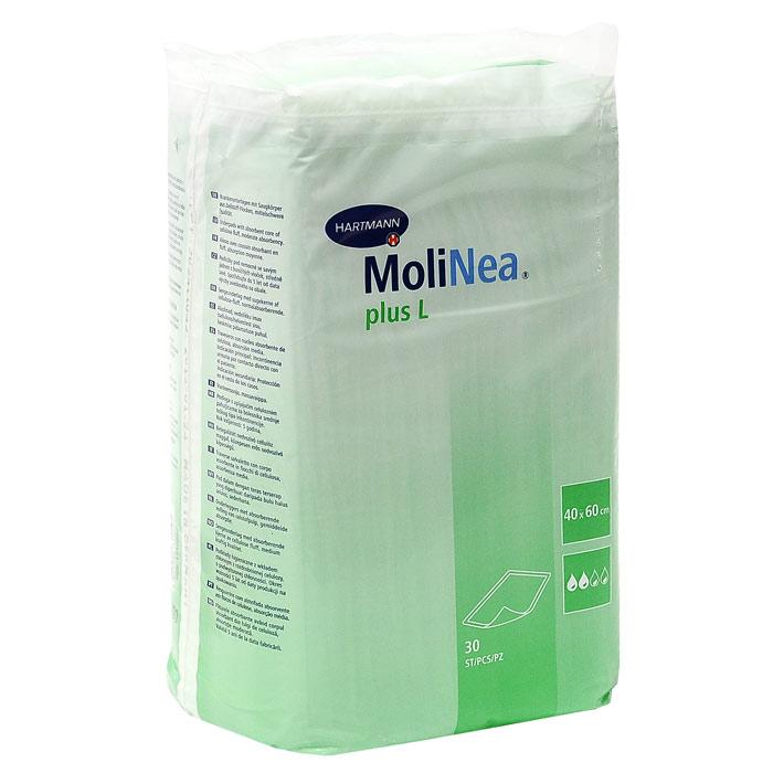 "Одноразовые впитывающие пеленки ""Molinea (Молинеа) Plus L"", 40 см х 60 см, 30 шт"