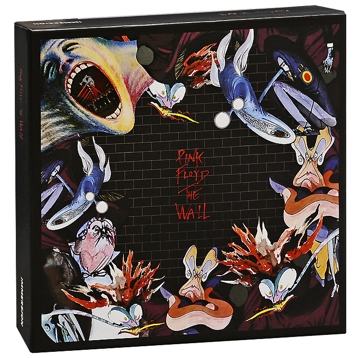 Pink Floyd Pink Floyd. The Wall (6 CD + DVD) pink floyd the wall – discovery edition 2cd