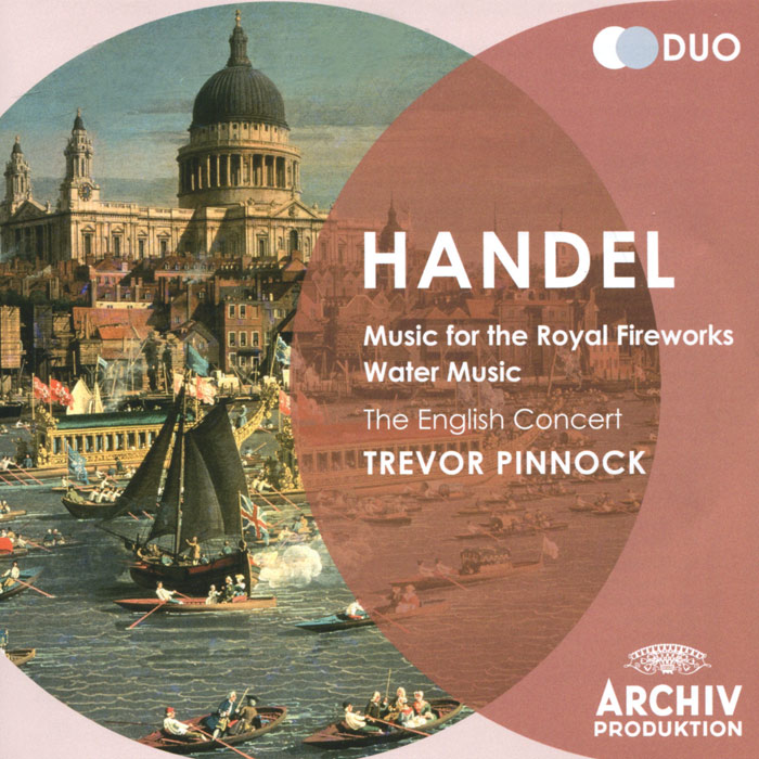 The English Concert,Тревор Пиннок,Саймон Стэндэйдж,Элизабет Уилкок The English Concert, Trevor Pinnock. Handel. Water Music / Music For The Royal Fireworks (2 CD) тревор пиннок the english concert the english concert