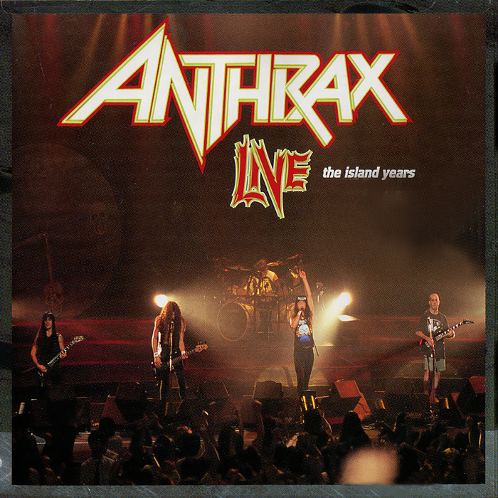 Anthrax Anthrax. Live. The Island Years anthrax – state of euphoria