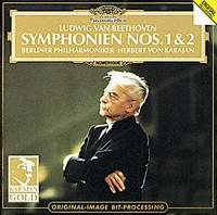 Berliner Philharmoniker,Герберт Караян Herbert von Karajan. Ludwig Van Beethoven: Symphonien No. 1 & No. 2 а дворжак месса ре мажор op 86 mass in d major op 86