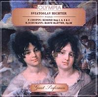 Святослав Рихтер Sviatoslav Richter, piano. F.Chopin: Scherzi Nos. 1, 2, 3 and 4. R.Schumann: Bunte Blatter, Op.99 w mason scherzo and novelette op 31
