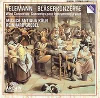 Musica Antiqua Koln Orchestra,Рейнхард Гебель Georg Philipp Telemann. Concertos for Wind Instruments. Reinhard Goebel недорого