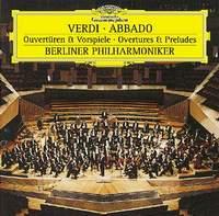 Berliner Philharmoniker,Клаудио Аббадо Giuseppe Verdi. Overtures and Preludes. Claudio Abbado giuseppe verdi falstaff