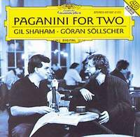 Горан Сольшер,Гил Шахам Gil Shaham, Goran Sollscher. Paganini For Two н паганини квартет для гитары и струнных no 14 quartet for guitar and strings no 14 by paganini niccolo