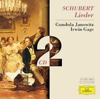 лучшая цена Ирвин Гэйдж,Гундула Яновитц Schubert. Lieder. Janowitz. Gage (2 CD)