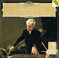 Berliner Philharmoniker,Герберт Караян Herbert von Karajan. Ludwig Van Beethoven: Symphonie No. 8 herbert von karajan beethoven symphony no 9 overture