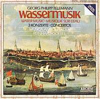 Musica Antiqua Koln Orchestra,Рейнхард Гебель Georg Philipp Telemann. Watermusic. 3 Concertos. Reinhard Goebel недорого