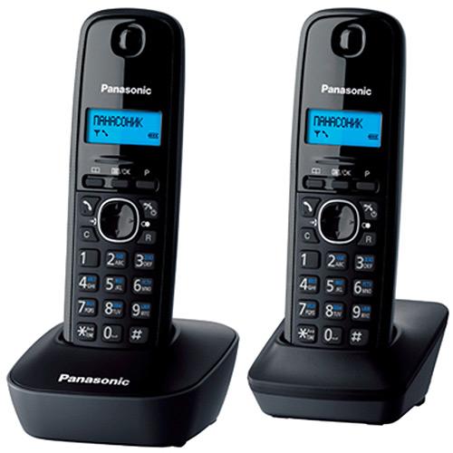 Радиотелефон Panasonic KX-TG1612RUH, серый радиотелефон dect panasonic kx tg6822rum серый металлик