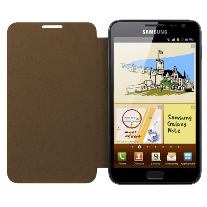 цена на Samsung EFC-1E1CDECSTD для Galaxy Note N7000, Brown