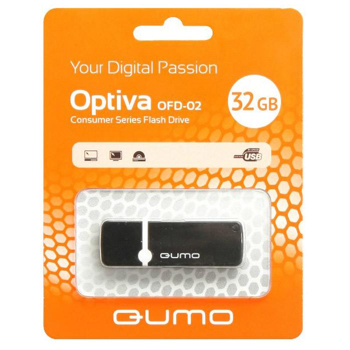 QUMO Optiva 02 32GB, Black