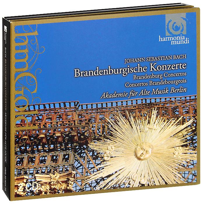 лучшая цена Akademie Fur Alte Musik Berlin Akademie Fur Alte Musik Berlin. Bach. Brandebourg Concertos (2 CD)