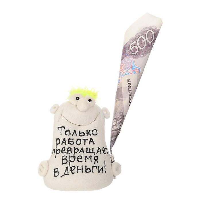 """Фигурка декоративная """"Только работа превращает время в деньги!"""", в ассортименте"""