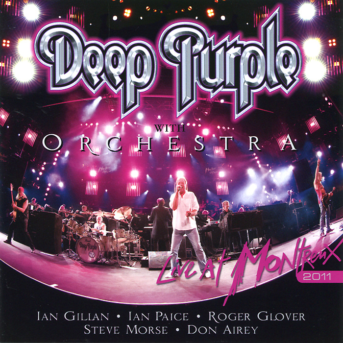 Deep Purple With Orchestra. Live At Montreux 2011 (2 CD) cd deep purple infinite