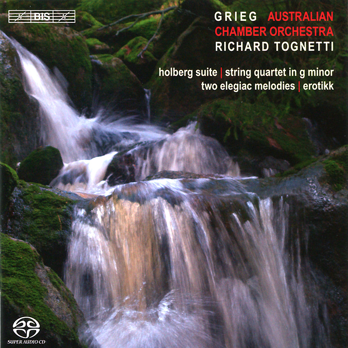 Australian Chamber Orchestra,Ричард Тогнетти,Кристофер Мур Australian Chamber Orchestra, Richard Tognetti. Grieg. Music For String Orchestra (SACD) гил шахам orpheus chamber orchestra gil shaham orpheus chamber orchestra vivaldi die vier janreszeiten les quatre saisons