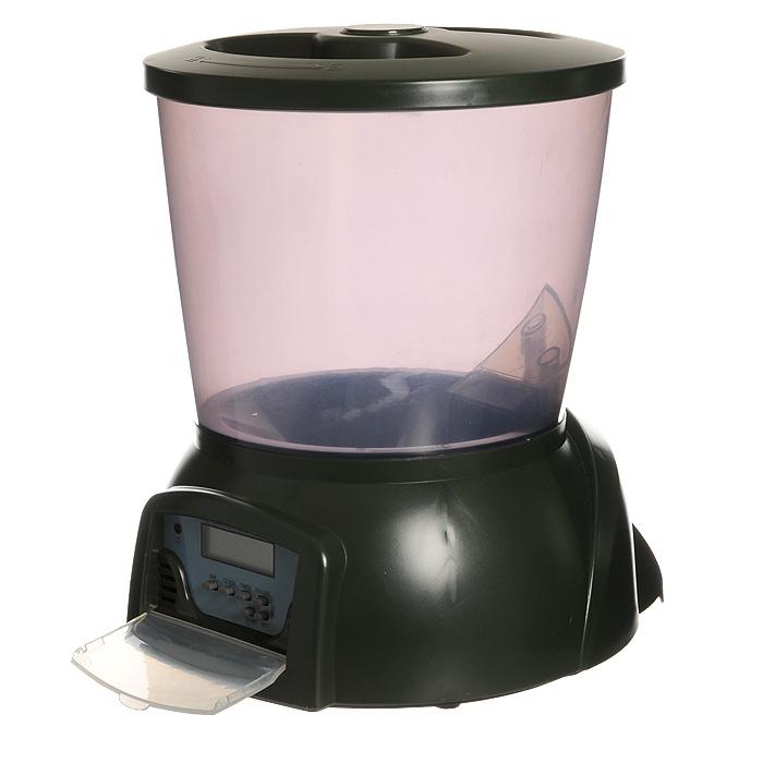 Кормушка автоматическая Feed-Ex для прудовых рыб, цвет: зеленый, 2 кг кормушка автоматическая feed ex для сухого корма цвет черный 6 7 кг
