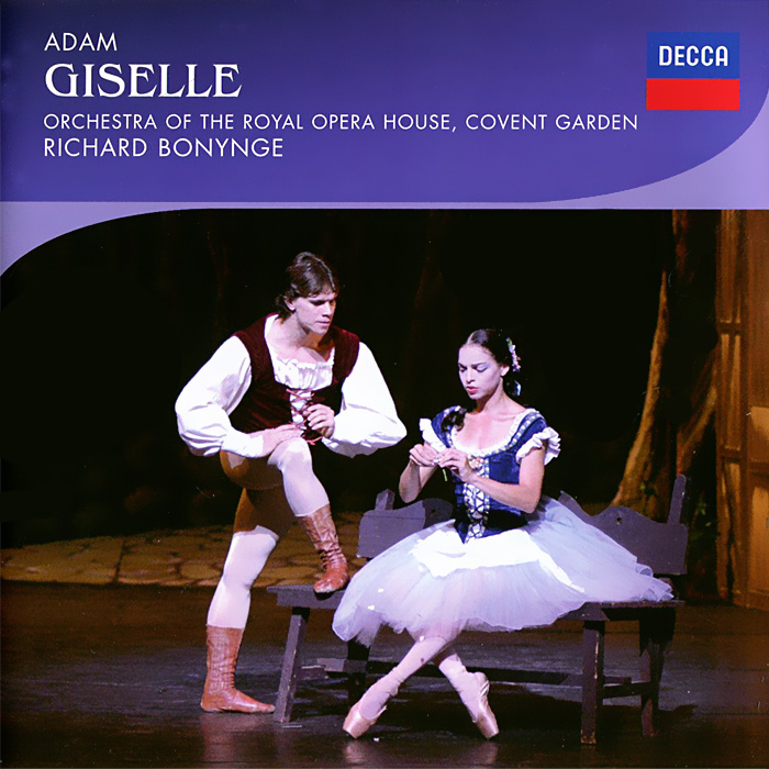 The Orchestra Of The Royal Opera House, Covent Garden,Ричард Бонинг Royal Opera House Orchestra, Richard Bonynge. Adam. Giselle (2 CD) the royal ballet covent garden romeo